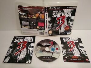 The-way-of-the-Samurai-3-PS3-Pal-francais-Complet-Comme-neuf