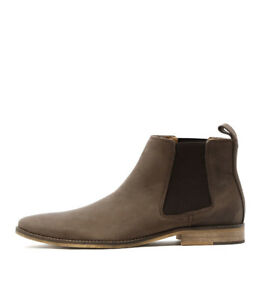 New Croft Camden Cigar Mens Shoes Dress Boots Ankle