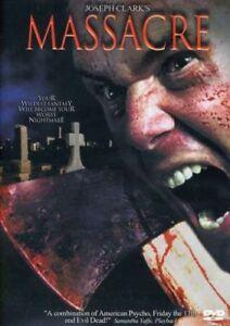Massacre-DVD-2002-RARE-OOP-CULT-HORROR-SLASHER-Joseph-Clark