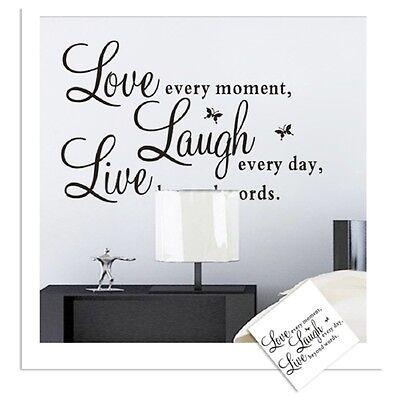 Love Beyond Words DIY Art Wall Decal Decor Room Stickers Vinyl Home Mural Paper