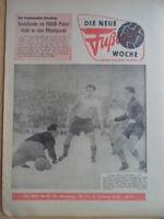 FUWO 8- 19.2. 1963 Dresden-Rostock 1:1 Jena-Rotation Leipzig 4:0 Zwickau-Brieske