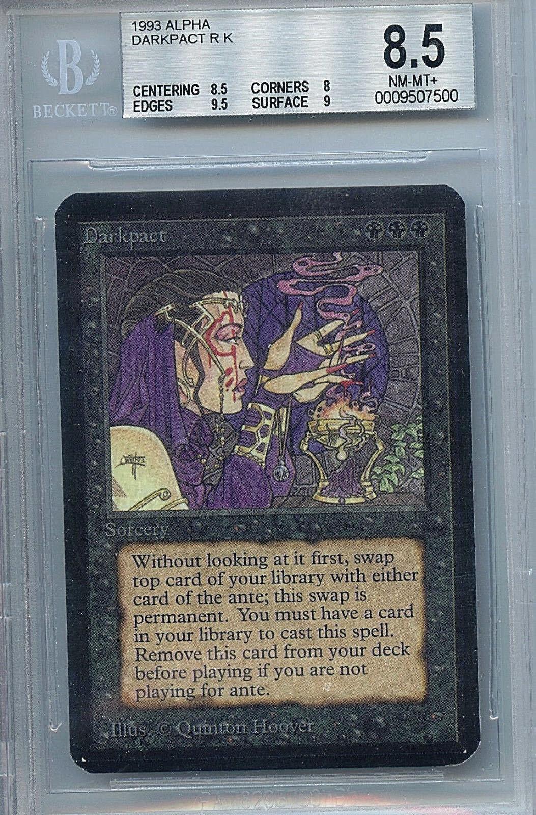 MTG Alpha Darkpact BGS 8.5 NM MT+ Card Magic the Gathering WOTC 7500