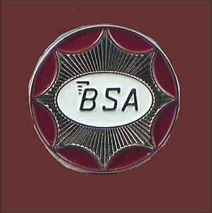BSA Gold Star  Motorcycle Enamel Pin Badge Transportation