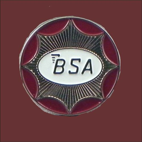 BSA Gold Star  Motorcycle Enamel Pin Badge Transportation