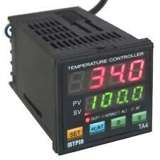 Din 116 Dual Digital Fc Pid Temperature Control Controller Ssr 2 Alarms Acdc