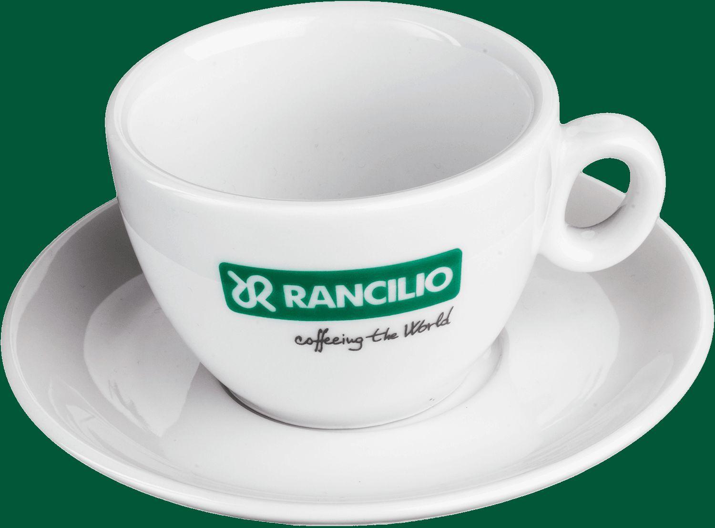 Rancilio Cappuccino tasses, 6 pièces-Caffe Milano