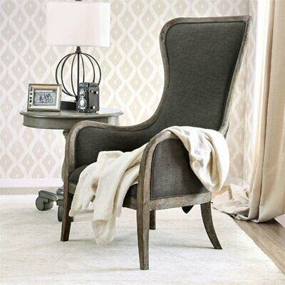 Awesome Furniture Of America Danza High Back Accent Chair In Gray Ebay Onthecornerstone Fun Painted Chair Ideas Images Onthecornerstoneorg