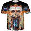 New Women Men Michael Jackson Music King Star Print 3D T-Shirt Casual Short Tee