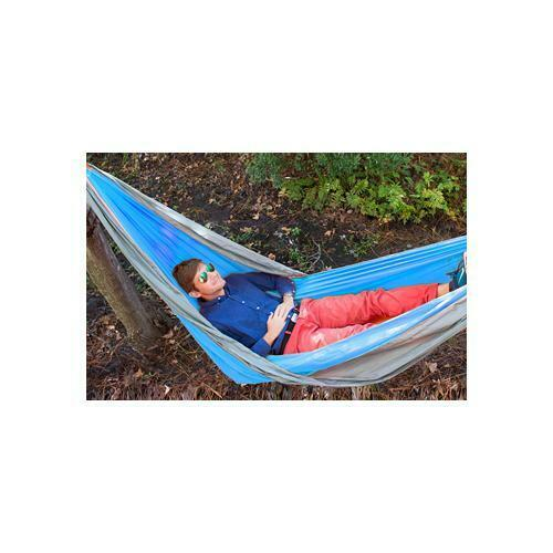 """Blue//gry 96/""""x50/"""" Flat with Tree-Safe Straps//Carabines Details about  /Ust Slothcloth Hammock"""