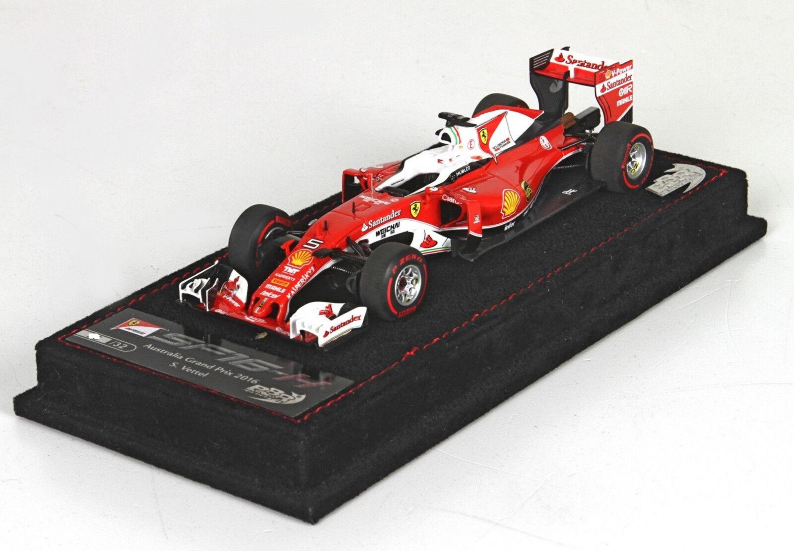 Ferrari SF 16-H GP Australia S.Vettel  lim.ed. 32 pcs  BBRC183-1 BBR Models