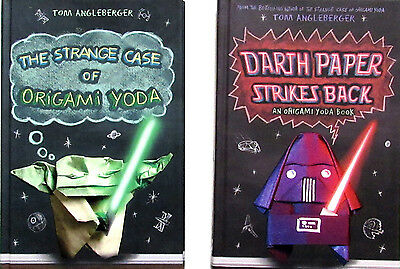 "Book review: ""Darth Paper Strikes Back: An Origami Yoda Book,"" by ... 