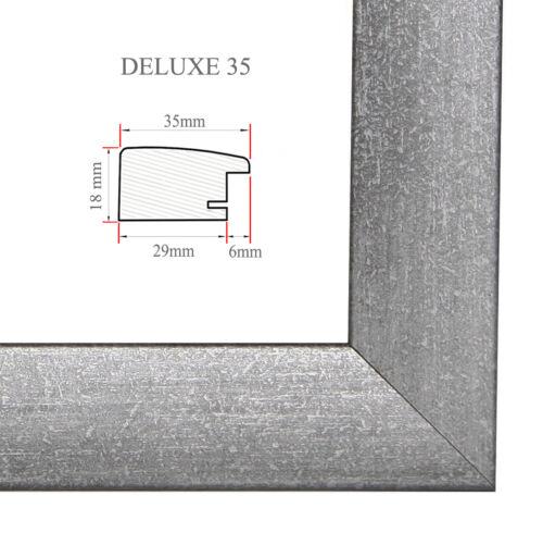 DELUXE35 Bilderrahmen 40x125 cm oder 125x40 cm Foto//Galerie//Posterrahmen