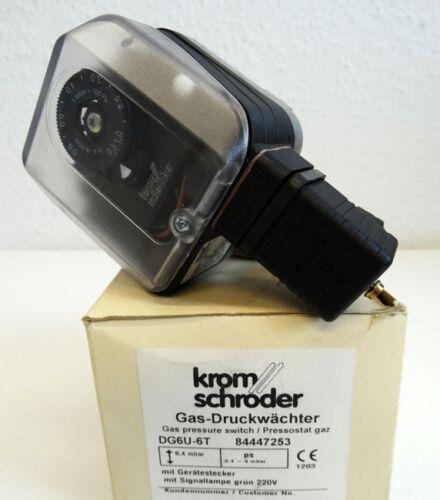 Kromschröder Gas-Druckwächter DG6U-6T  84447253 unused//OVP