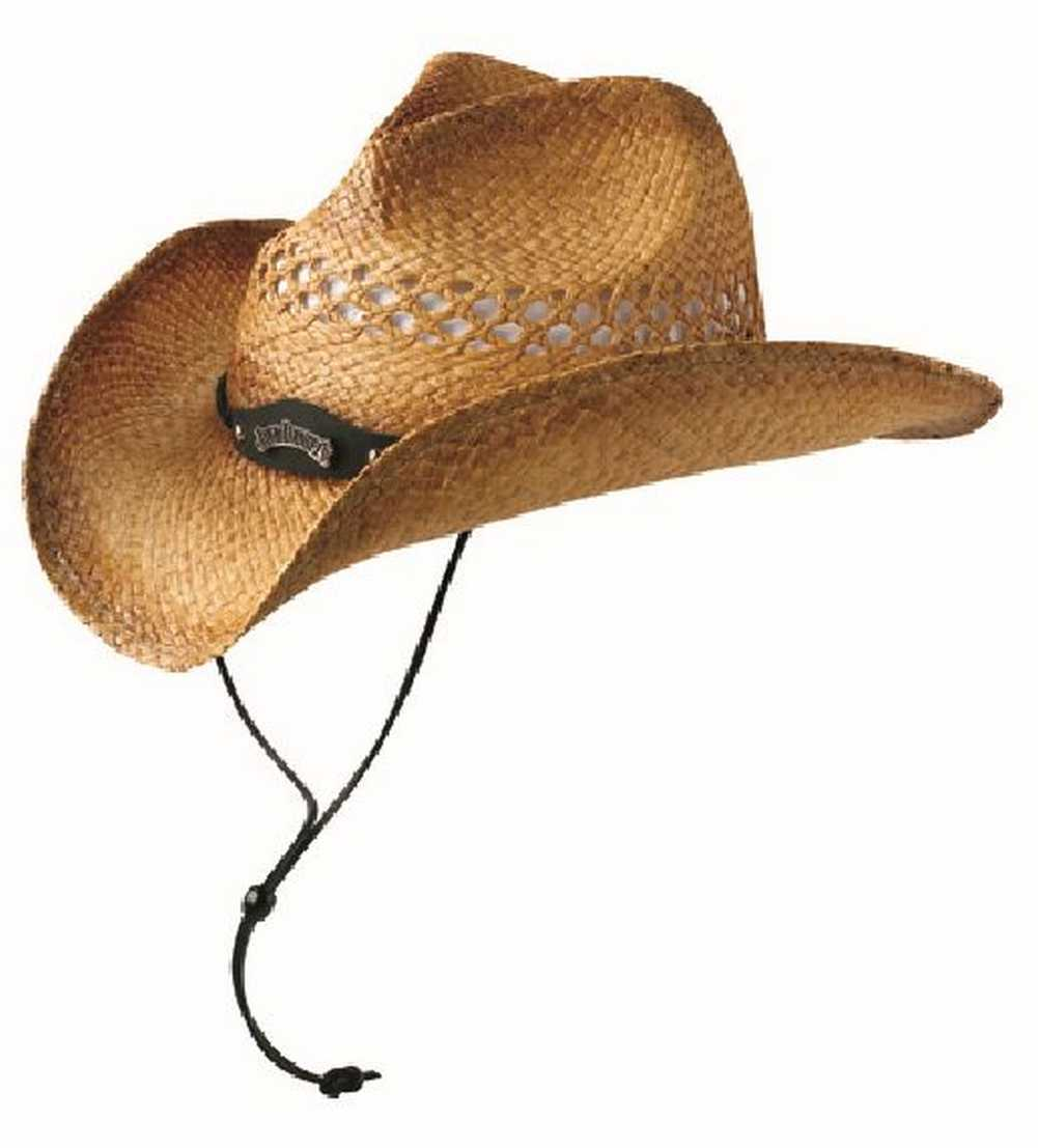 Jack Soft Daniels Men's Soft Jack Raffia Straw Cowboy Hat - Natural Toast Color JD03-59 e781c9