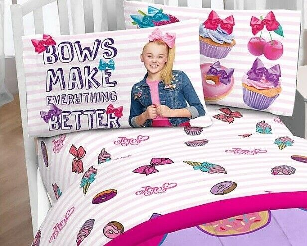 Nickelodeon Jojo Siwa Sweet Life Pink 4, Jojo Siwa Bedding Set Full