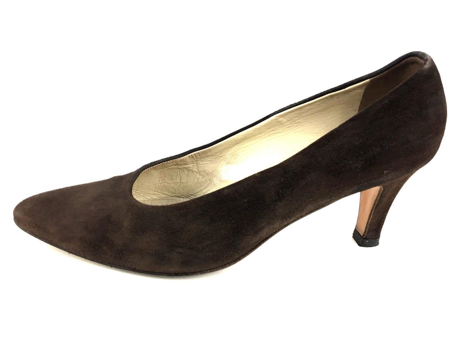 Bally Classic  Damenschuhe Pump Heel Braun  Classic Schuhe Größe US.6 f36b7b