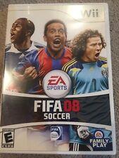 FIFA 08: World Class Soccer (Nintendo Wii, 2007)
