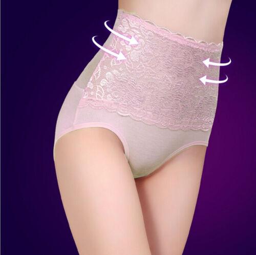 Women High Waist Panty Underwear Body Shaper Hip Abdomen Tummy Control PantyHEP