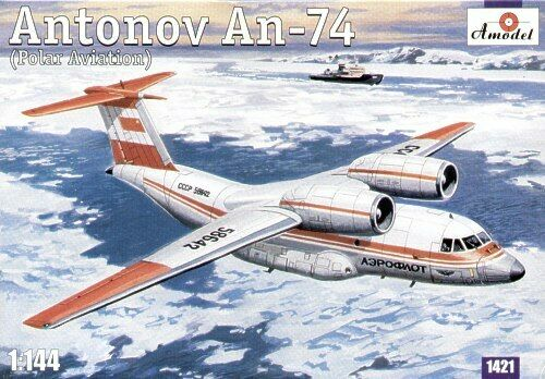 Amodel 1 144 Antonov An-74 (Polar Aviation)