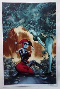 ECCC-2017-EXCLUSIVE-HARLEY-QUINN-Lithograph-SIGNED-TIM-SALE