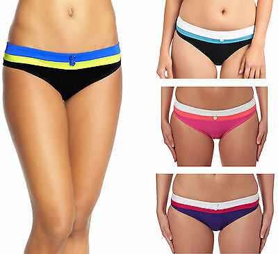 Freya 3223 Revival Hipster Bikini Brief Bottoms Indigo Pink Sorbet Black New