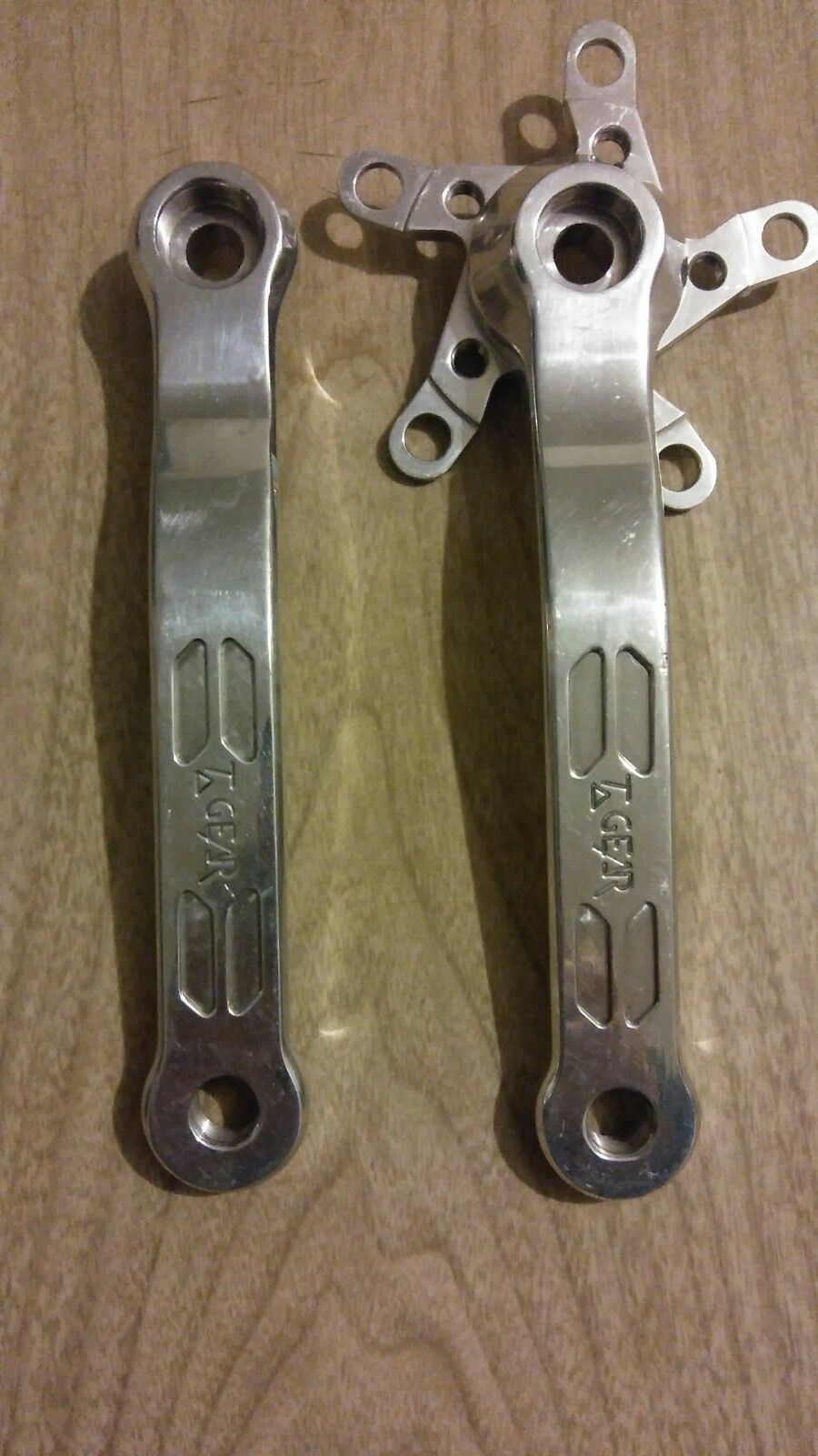 T - GEAR SQUARE TAPER CRANK ARMS 175MM USA VINTAGE