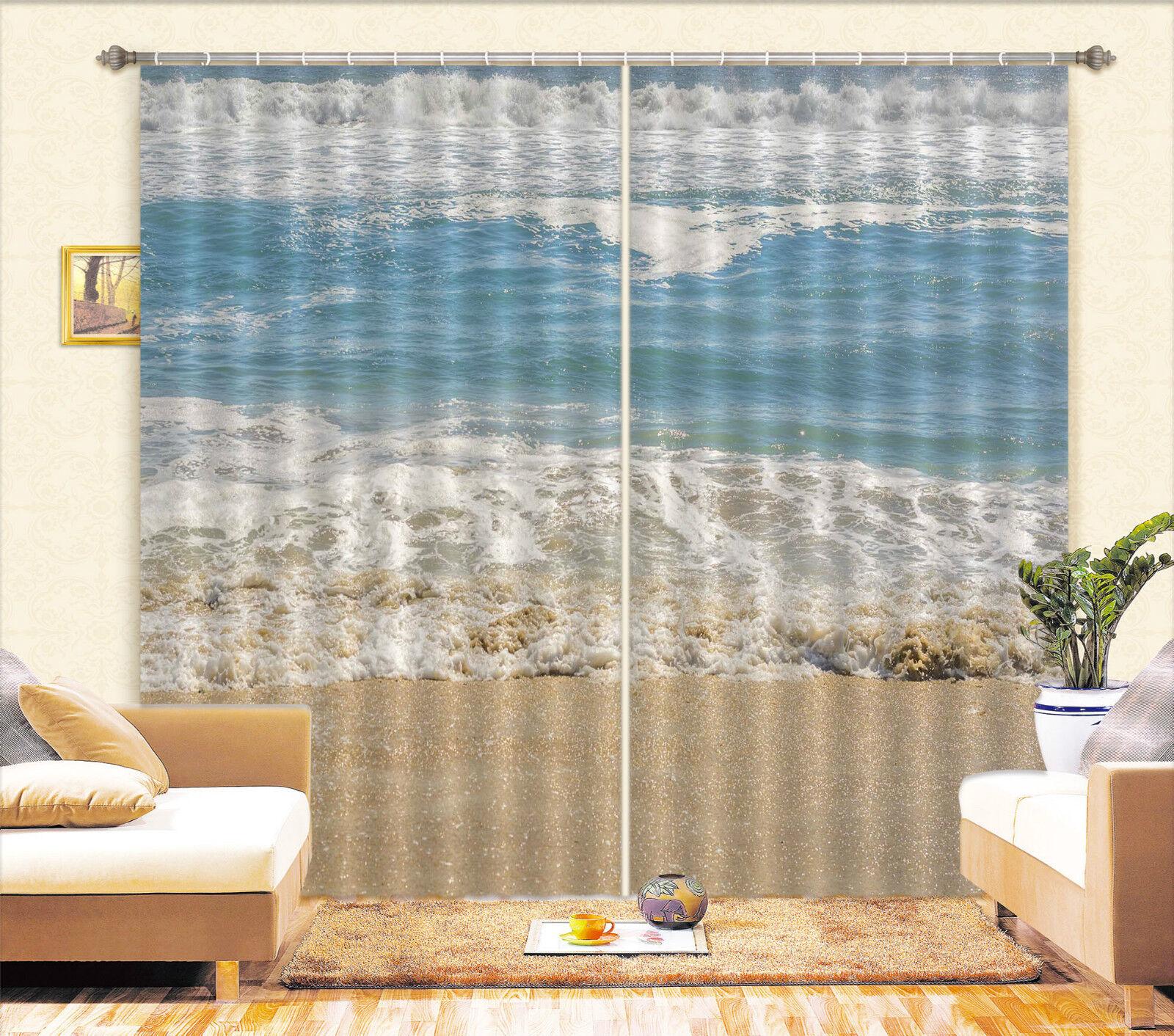 3d ondata di mare 5845 blocco foto sipario pressione sipario tende tessuto finestra de