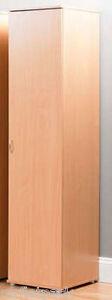 WARDROBE-LARGE-SINGLE-DOOR-NEW-SHELVING-OR-HANGING-R94B