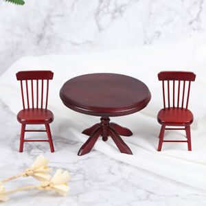 1-12-Dollhouse-Mini-Wooden-Dining-Table-Chair-Kitchen-Furniture-Doll-House-DecSE