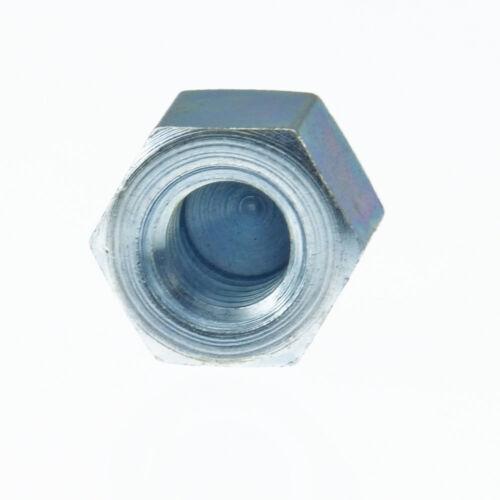 Hexagonal-hutmuttern faible forme DIN 917 6 ua acier galvanisé