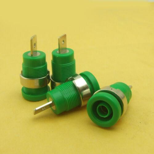 1pcs-1000PCS speaker 4mm Binding Post Safety Protection Plug copper Banana plug