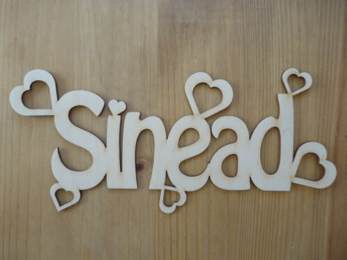 Personalised Wooden Name Plaques Words//Letters Wall//Door Art//craft//Sign birch