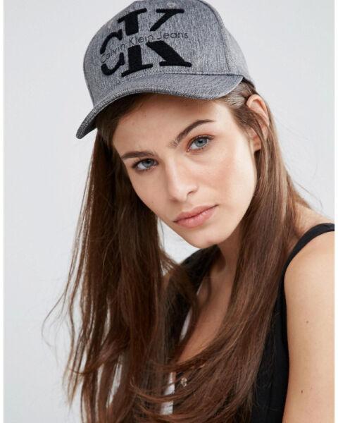 2018 Calvin Klein | Ck Jeans | Anni'90 Re-issue-cap Snapback * Autentica * Nuovo Alleviare I Reumatismi
