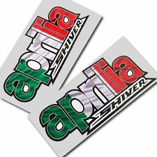 Aprillia SHIVER  Italian flag style graphics stickers decals motorcycle