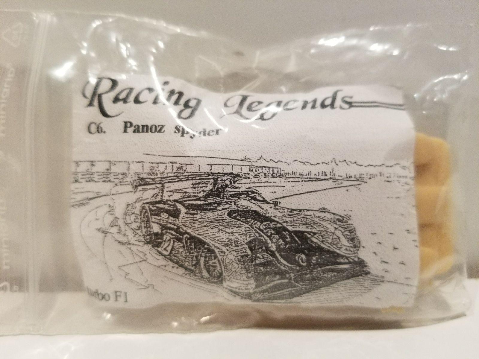 RARE RACING LEGENDS PANOZ SPYDER RACER HO SCALE RESIN SLOT CAR BODY KIT C6