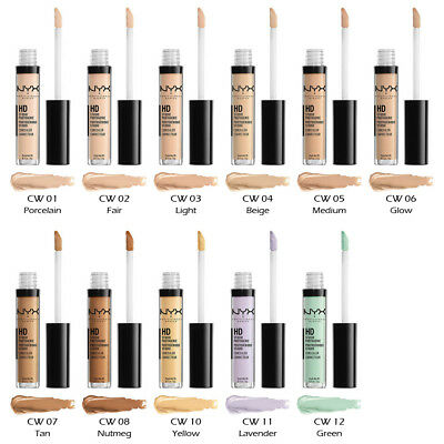 "1 NYX HD Photogenic Concealer Wand - CW ""Pick Your 1 Color ..."