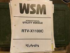 Kubota Workshop Manual Rtv X1100c