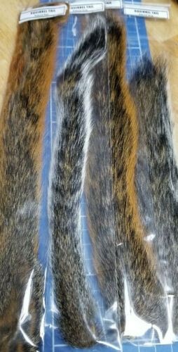Assorted Types Squirrel Tails
