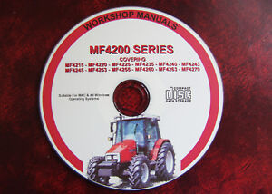 Massey Ferguson Mf4200 Series 4215 - 4270 Tracteur Workshop Service Repair Manual-afficher Le Titre D'origine Pzkzqmqm-07214934-871757657