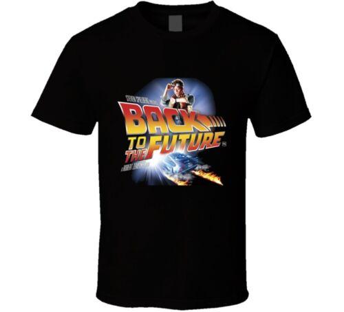 Back To The Future Michael J Fox Retro 80/'s Movie T Shirt