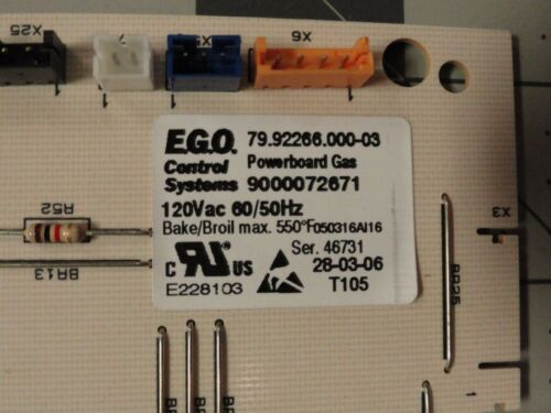 497067-00497067 Bosch Range//Oven Electronic Control Board