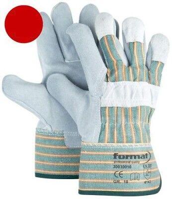 Von Format Modern Und Elegant In Mode Handschuhe Aus Rindspaltleder Sinnvoll 12 Stk Gr.10 1116386