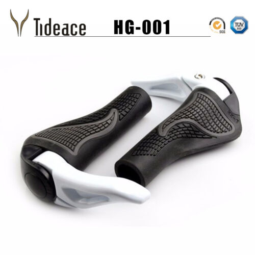 MTB Mountain//road Bike Bicycle lock-on alloy Rubber Handlebar Cover Handle grip
