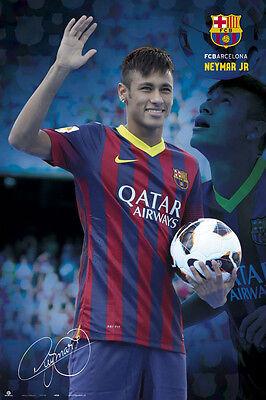 FC BARCELONA - SPORTS POSTER / PRINT (NEYMAR DA SILVA SANTOS / NEYMAR JR.)
