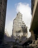 South Tower Ruins WTC New York 9/11 8x10 Silver Halide Photo Print