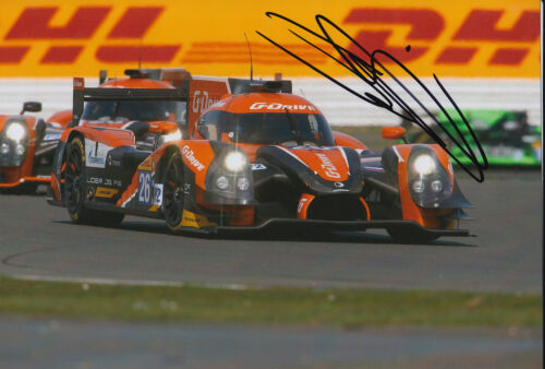 Sam Bird GDrive Racing Hand Signed 7x5 Photo 2015 Le Mans 6.