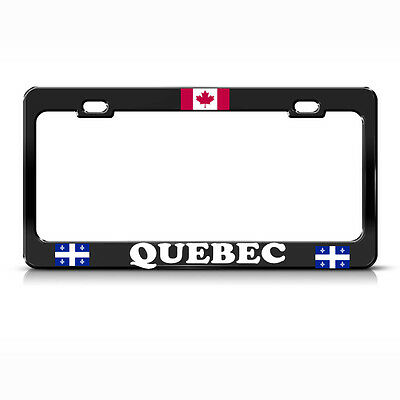 CANADA Flag Custom License Plate Canadian Emblem  Rust Version # 6