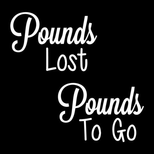 Livres perdu livres pour aller Autocollant Vinyle Autocollant Pour À faire soi-même perte de poids Jar