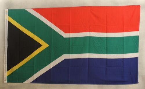 Südafrika Flagge 90x 60 cm wetterfest Fahne Ösen Innen Außen Hissflagge Flag Neu