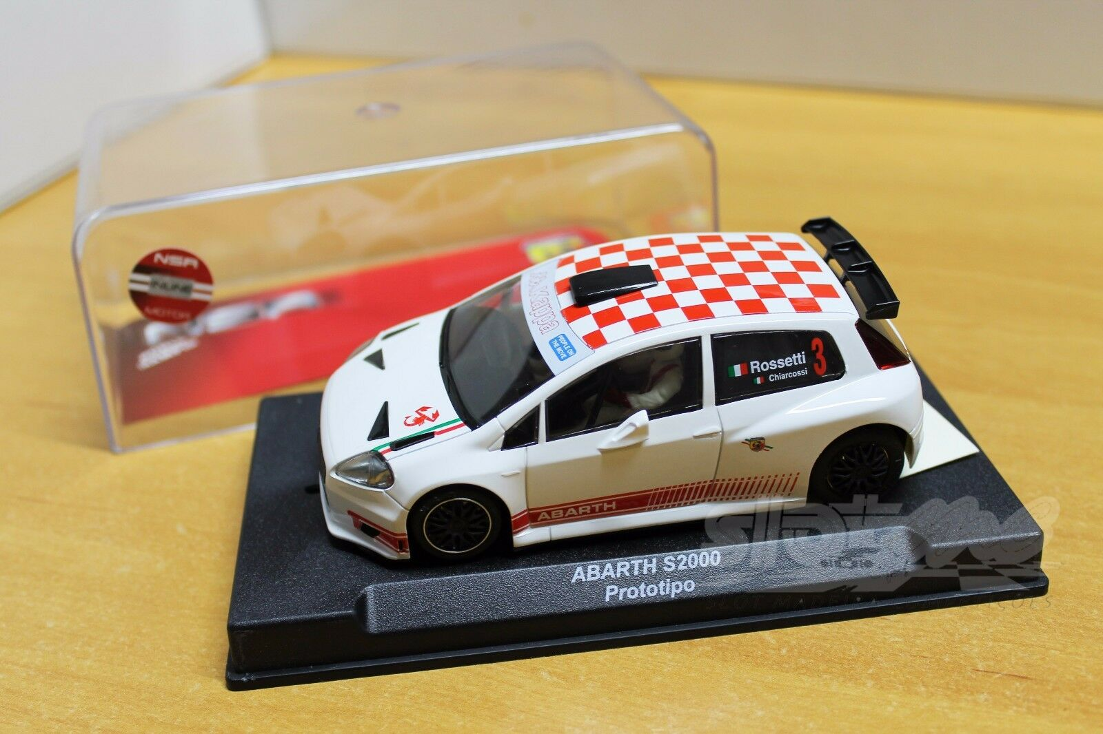 NSR 1030 Fiat Abarth Grande Punto S2000 Anglewinder 1 32   NEW